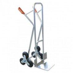 Carretilla de acero especial peldaños aluminio Gayner