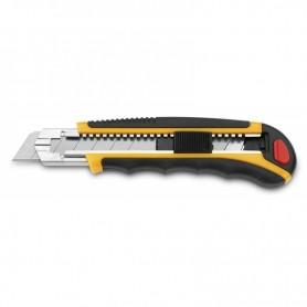 Cutter 3Claveles metal-nylon con cierre de seguridad