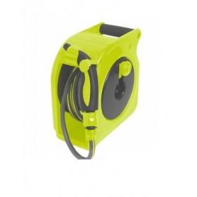 Mini enrollador con pistola manual 10 metros verde