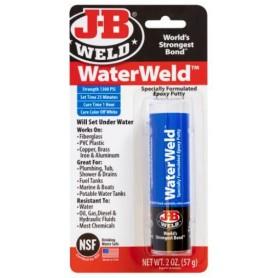 Masilla bicomponente fugas de agua JB Weld