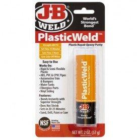Masilla epoxy reparadora plásticos JB Weld