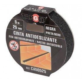 Cinta adhesiva antideslizante negra Target