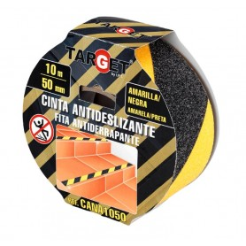 Cinta adhesiva antideslizante bicolor amarillo-negro Target
