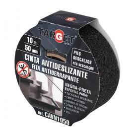 Cinta adhesiva antideslizante negra pies descalzos Target
