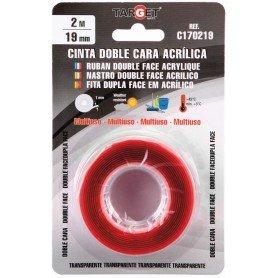 Cinta adhesiva doble cara acrílica Target
