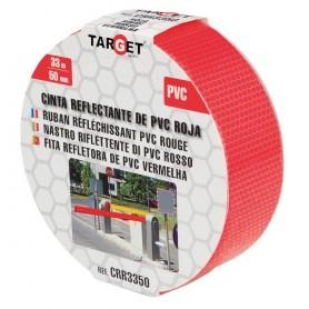 Cinta adhesiva reflectante PVC