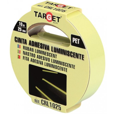 Cinta adhesiva PET de señalización luminiscente