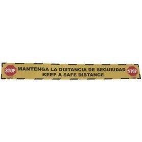 Adhesivo vinilo rectangular antideslizante señalización Target