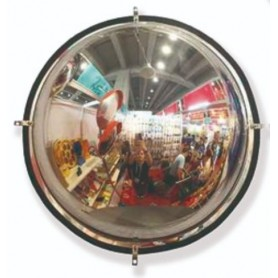 Espejo tipo cúpula para interiores