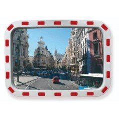 Espejo rectangular de tráfico vidrio Gayner