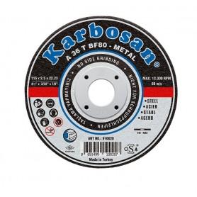 Disco de corte Karbosan acero centro deprimido