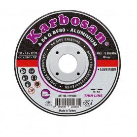 Disco de corte Karbosan aluminio