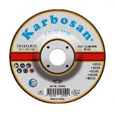Disco de desbarbar Karbosan acero