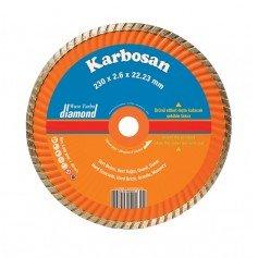 Disco de corte Karbosan diamante tubo ventilado