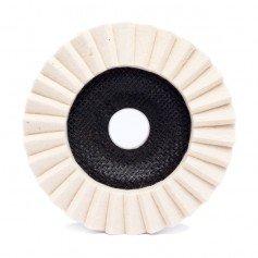 Disco de fieltro con laminas verticales