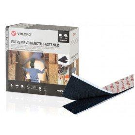 Velcro Extreme Strength Fastener negro 5 metros