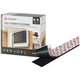 Velcro High Strength Fastener negro 5 metros