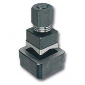 Perforador de chapa cuadrado con rodamiento Forza
