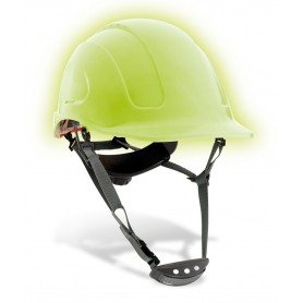 Casco de seguridad SteelPro Mountain fotoluminiscente