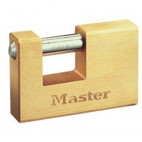Candado MasterLock latón rectangular