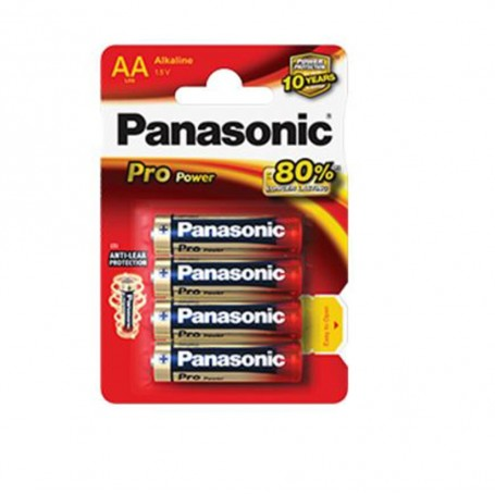 Pack pilas Panasonic AA