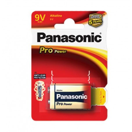 Pila Panasonic batería 9V