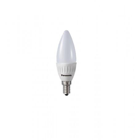 Bombilla Panasonic led tipo vela E14 luz cálida