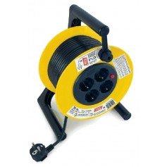 Enrollador eléctrico Tayg extensible 25m 2500W