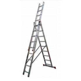 Escalera transformable triple aluminio TR3