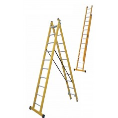Escalera transformable doble fibra Scal