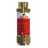 Válvula de seguridad soplete Galagar oxígeno