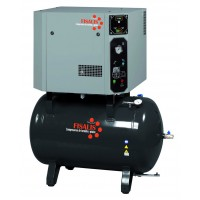 Compresor de pistón insonorizado Fisalis trifásico 5,5cv 14bar