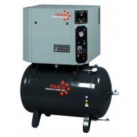Compresor de pistón insonorizado Fisalis trifásico 7,5cv 14bar