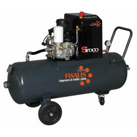 Compresor de tornillo Fisalis Siroco 4100T 4cv 100L