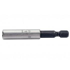 """Adaptador puntas 1/4"""" 60mm mágnetico Bahco"""