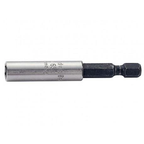 """Adaptador puntas universal 1/4"""" 60mm con imán sin anillo Bahco"""