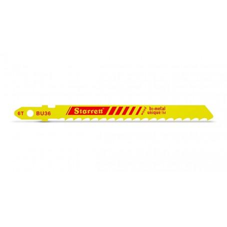 Hoja de sierra de calar Starrett para madera BU36-5