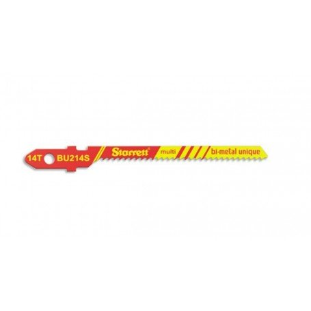 Hoja sierra calar Starrett BU214S-5 multiaplicación