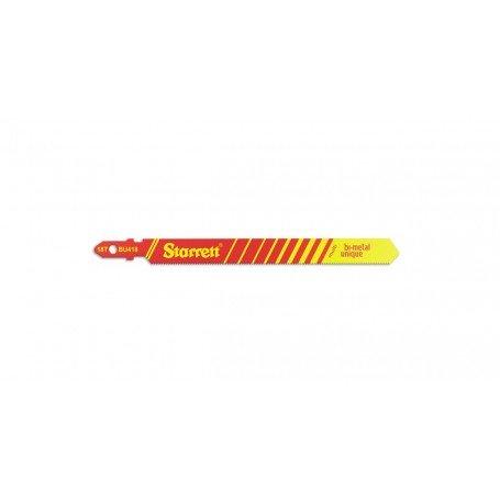 Hoja sierra calar Starrett BU418-5 multiaplicación