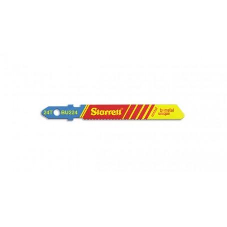 Hoja sierra calar Starrett BU224-5 metal