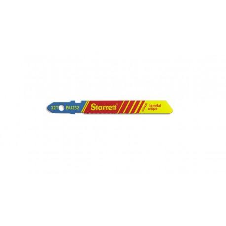 Hoja de sierra de calar Starrett para metal BU232-5