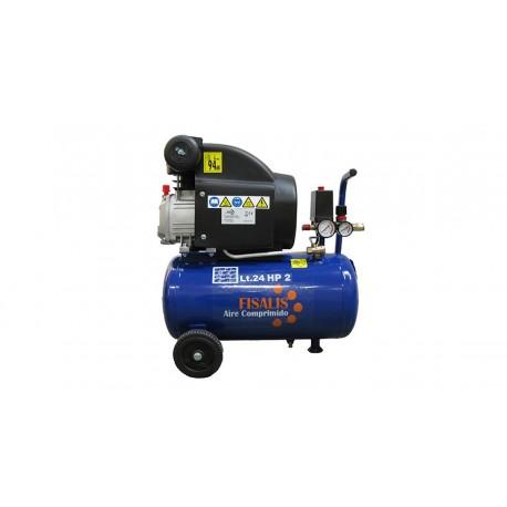 Compresor de pistón Fisalis CAD-25 2cv 25litros