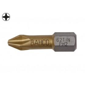 """Punta titanio 1/4"""" philips Bahco"""