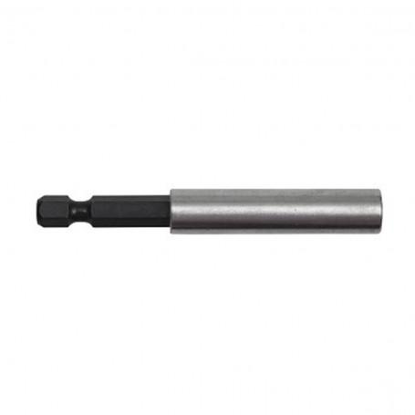 """Adaptador puntas 1/4"""" 75mm ajuste rápido con imán Bahco"""