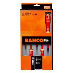 Juego de destornilladores aislados Bahco Fit 5 piezas plano/philips
