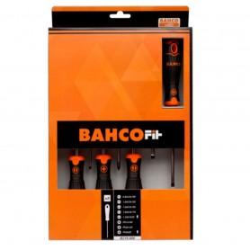 Juego de destornilladores Bahco Fit 8 piezas plano/philips