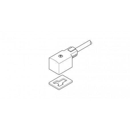 Conector Festo zocalo con cable KMV-1-24DC-2.5-LED