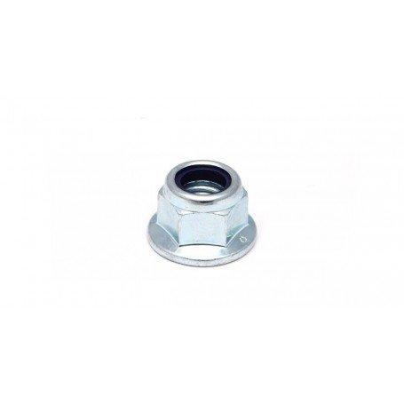 Tuerca hexagonal con brida autoblocante nylon DIN 6926