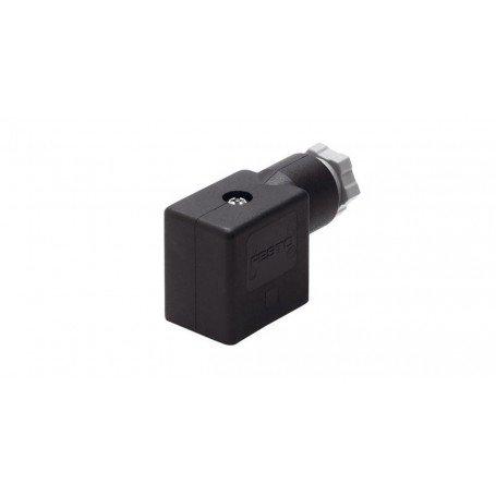 Conector para bobinas y valvulas MSSD-F
