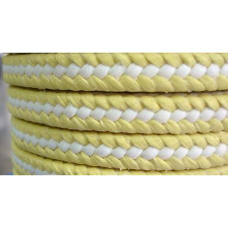 Empaquetadura aramida con hilos PTFE